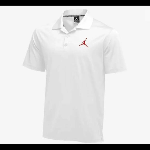 Nike Other - Nike Jordan Polo Golf Shirt Dri-FIT Jumpman
